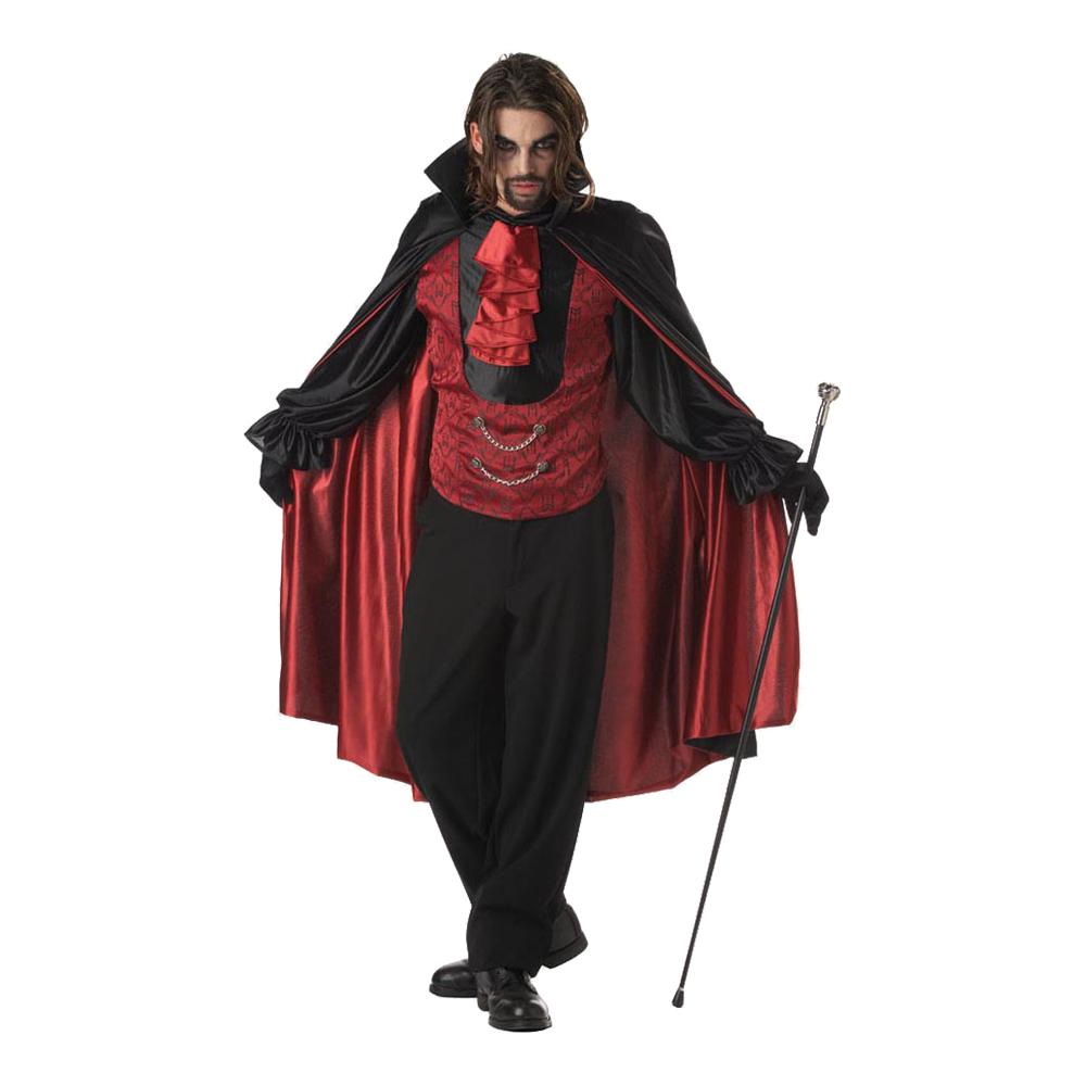 dracula voksenkostume - Dracula kostume til voksne