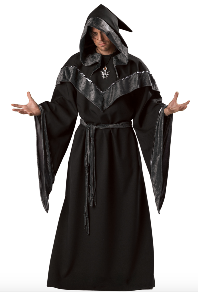 dyster troldmand kostume til mænd 695x1024 - Troldmand kostume til voksne