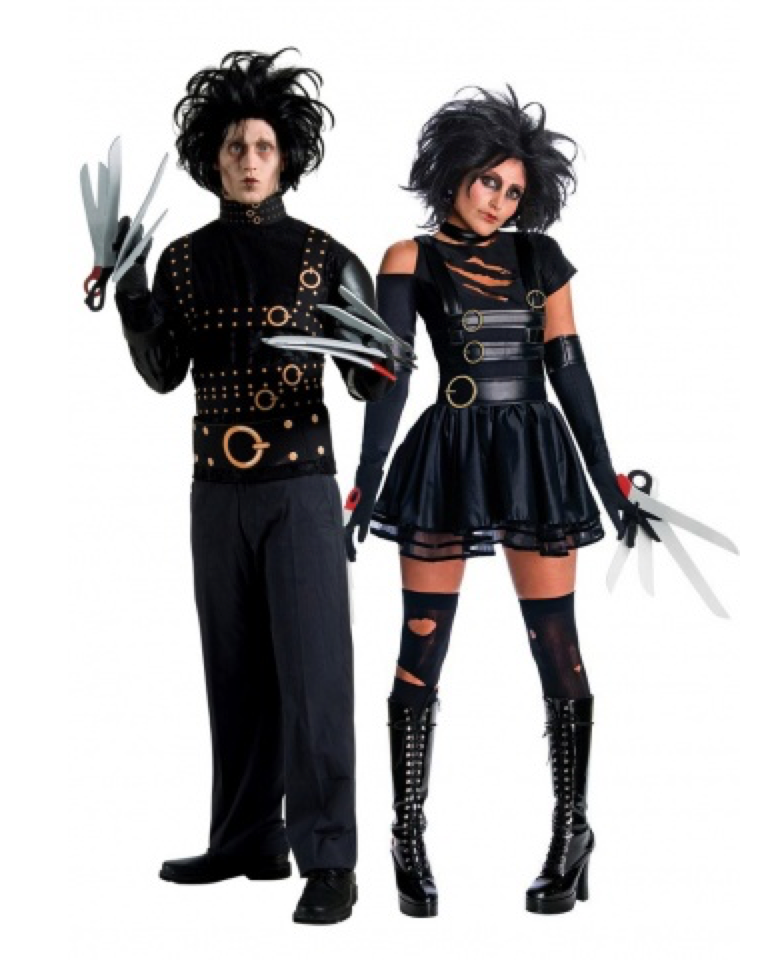 edward saksehånd kostume til voksne 1 - Halloween par kostume til voksne