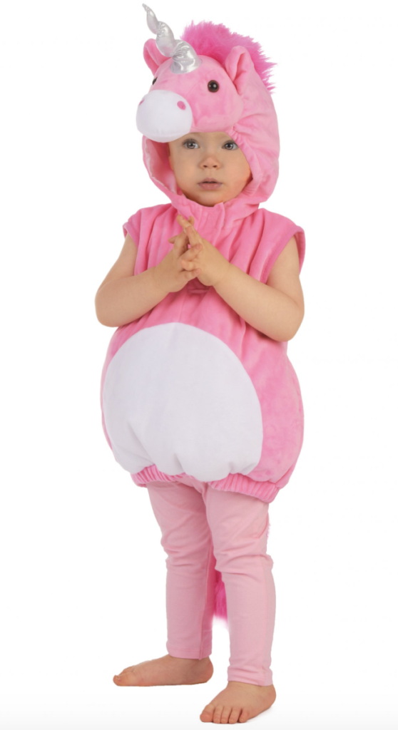 enhjørning udklædning baby 558x1024 - Enhjørning kostume til baby
