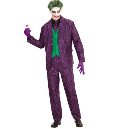 evil joker kostume til voksne jokeren kostume til voksne lilla kostume gyserfilm kostume horror kostume til halloween