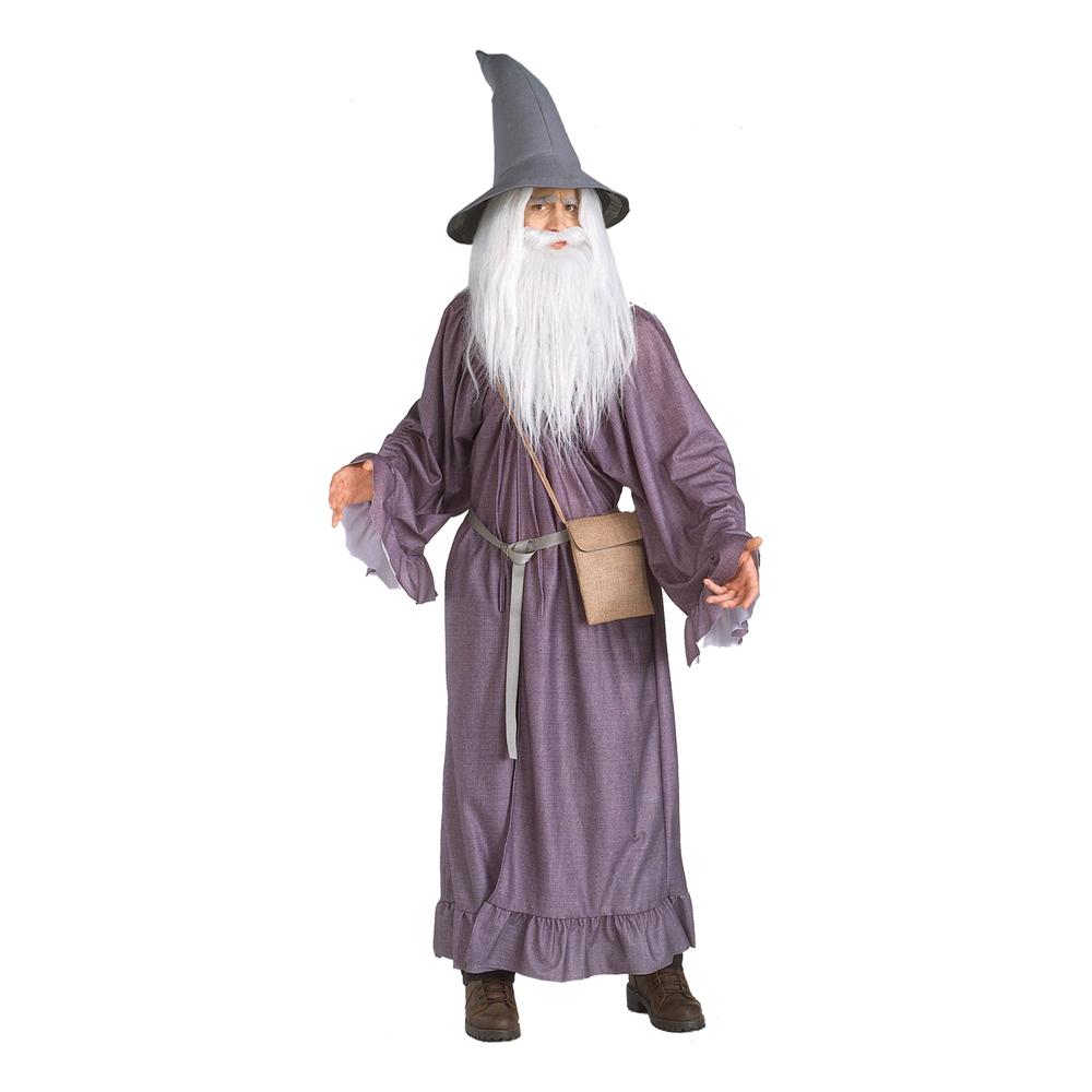 gandalf kostume til voksne - Troldmand kostume til voksne