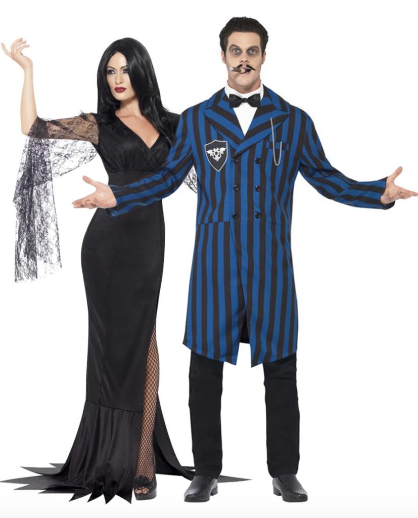 gotisk par kostume til voksne 827x1024 - Halloween par kostume til voksne