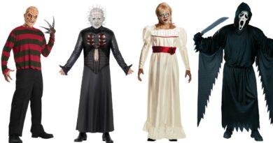gyserfilm udklædning til voksne halloween fest kostume til voksne