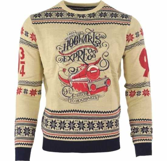 harry potter hogwarts express jule sweater kostymer harry potter kostumer - Julesweater til mænd