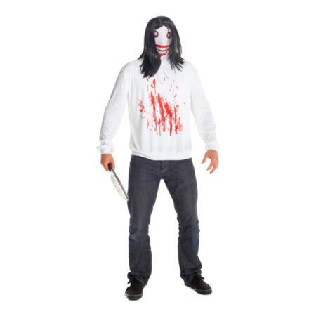 jeff the killer halloween udklædning til voksne