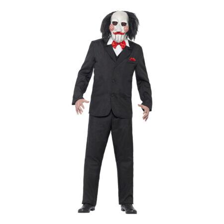 saw puppet kostume til voksne 450x450 - Gyserfilm kostume til voksne