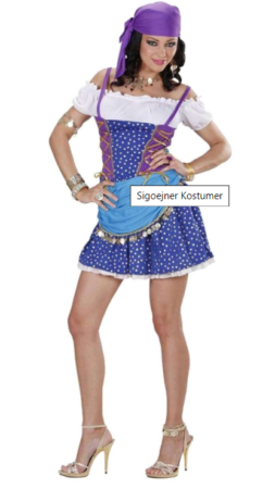 sigøjner kostume roma kostume gypsy kjole til voksne