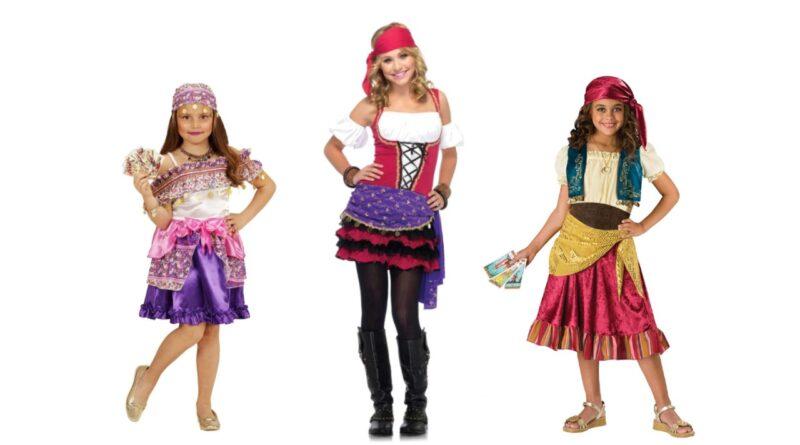 sigøjner kostume til børn spåkone kostume til børn roma kostume barn fastelavnskostume til piger 800x445 - Sigøjner kostume til børn