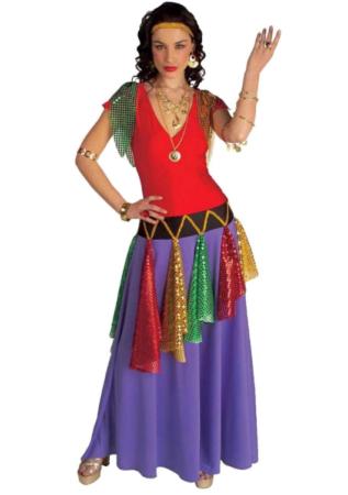 sigøjner mor kostume roma kostume klassisk gypsy kostume