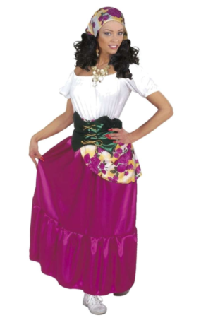 sigøjner prinsesse kostume til voksne sidste kostumedag kostume spåkone kostume