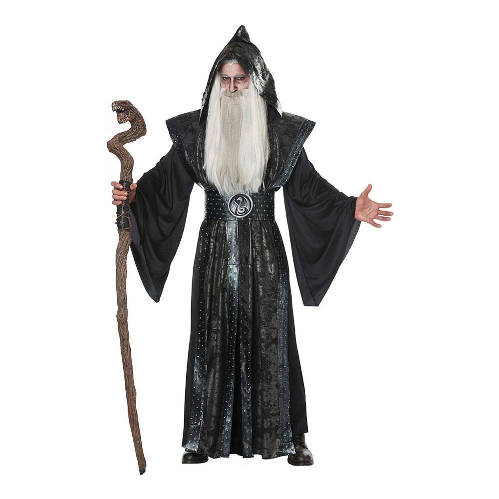 sort troldmand kostume - Troldmand kostume til voksne