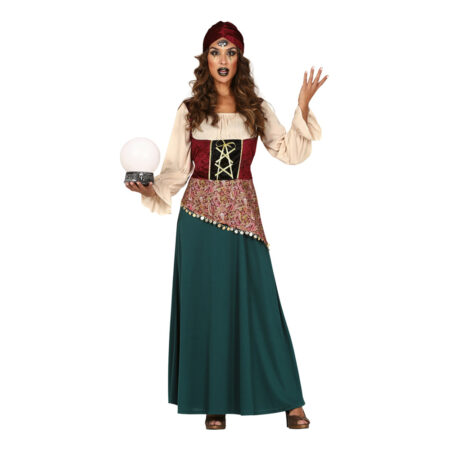 spåkone kostume til voksne spåkone udklædning kvinder ukult kostume europæisk kostume til voksne
