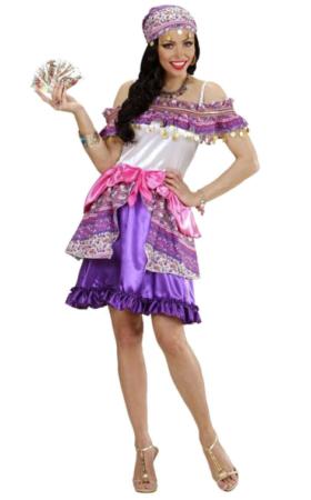 spåkone sigøjner kjole