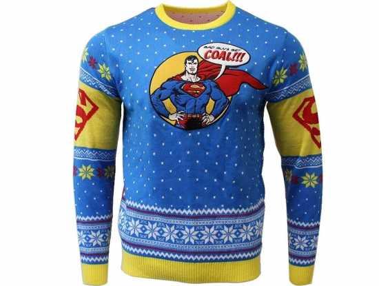 supermand julesweater unisex - Julesweater til mænd
