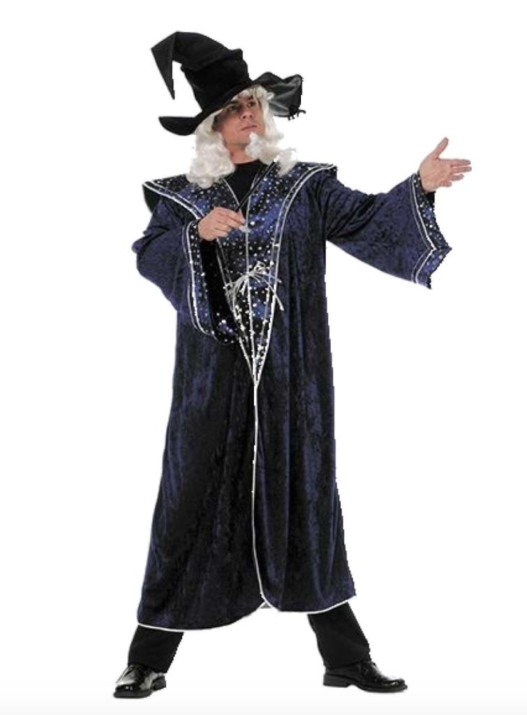 troldmand kostume 755x1024 - Troldmand kostume til voksne