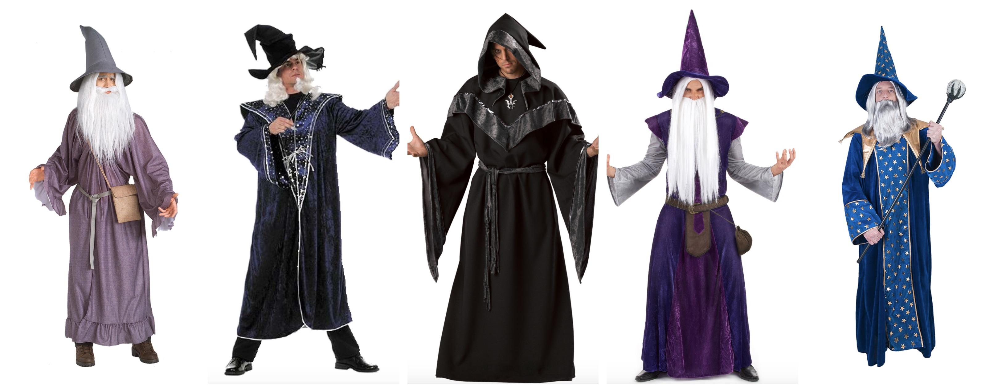 troldmand kostume til voksne - Troldmand kostume til voksne