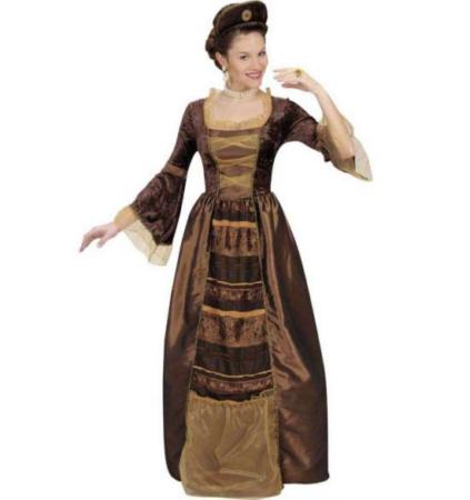 barok baronesse kostume til voksne