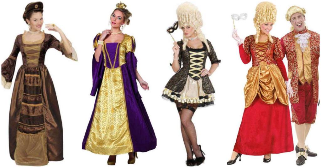 barok kostume til voksne. Barok dronning kostume Markise kostume til voksne parkostume udklædning 1600 tallet kostume 1700 tallet kostume barok temafest kostume