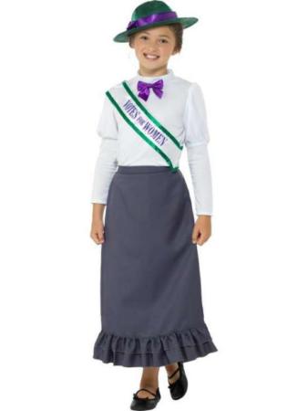 fin dame kostume til børn lille sød viktoriansk kostume til børn