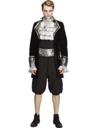 Hr Baroque uhyggeligt barok kostume til voksne