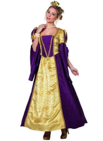 Barok dronning kostume til voksne