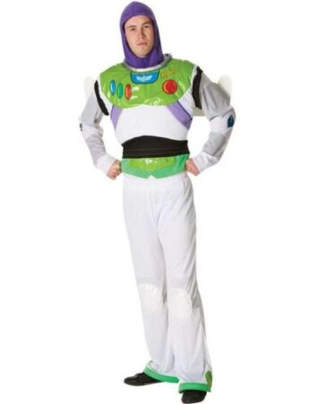 Buzz lightyear kostume 346x450 - Toy Story kostume til voksne