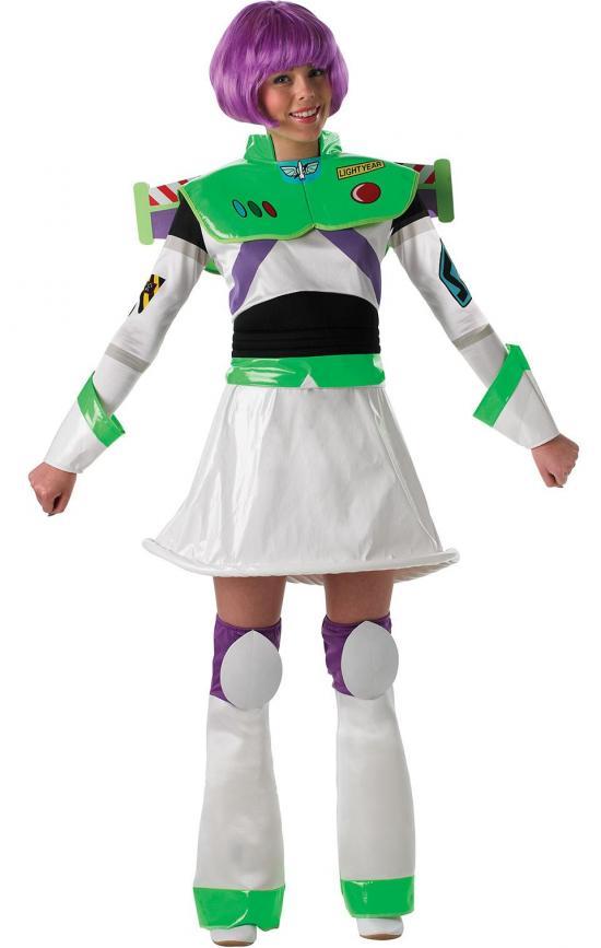 Buzz lightyear kostume til kvinder - Toy Story kostume til voksne