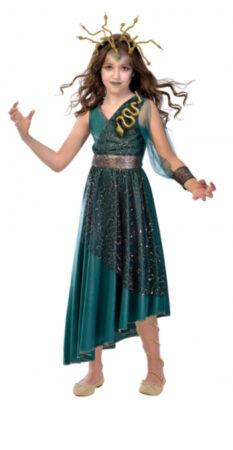 medusa kostume til børn medusa kostume til piger gorgon kostume græsk mytologi kostume græsk kostume til børn