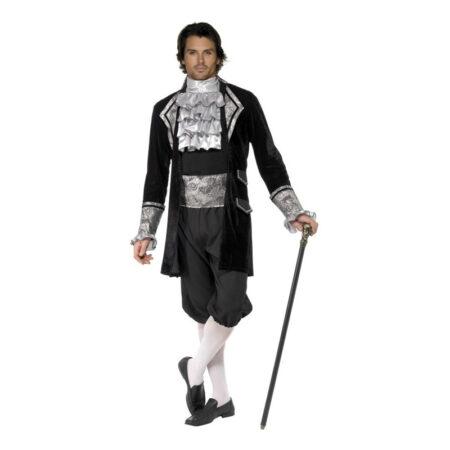 mr baroque vampyr barok kostume halloween barok udklædning