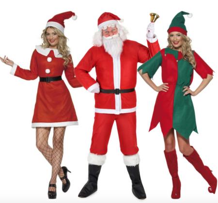 Gruppekostume til jul voksne 450x418 - Julekostumer til par