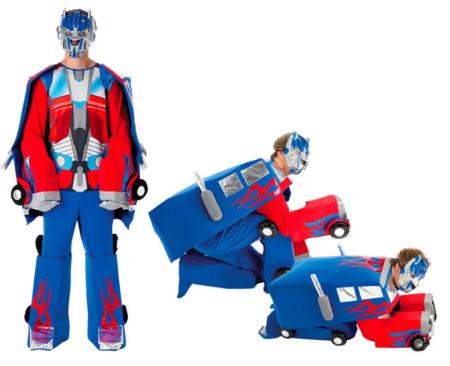 Optimus kostume til mænd optimus kostume til voksne transformers kostume til mand
