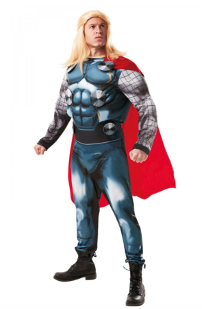 Thor Deluxe Kostume 295x450 - Thor kostume til voksne
