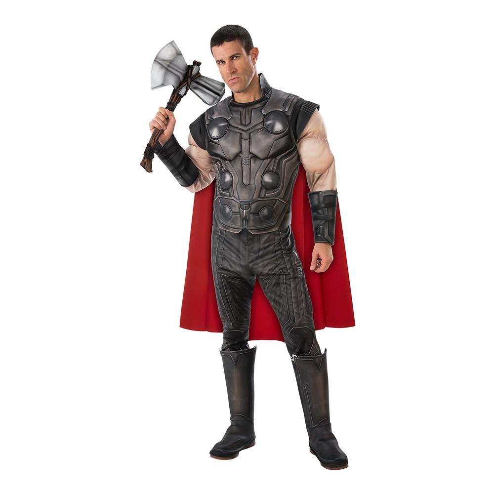 Thor luksus kostume superhelt kostume - Thor kostume til voksne