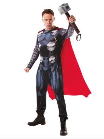 avengers thor voksenkostume 336x450 - Thor kostume til voksne