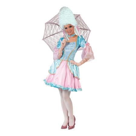 barok kostume i pink annabell barok kostume til voksne