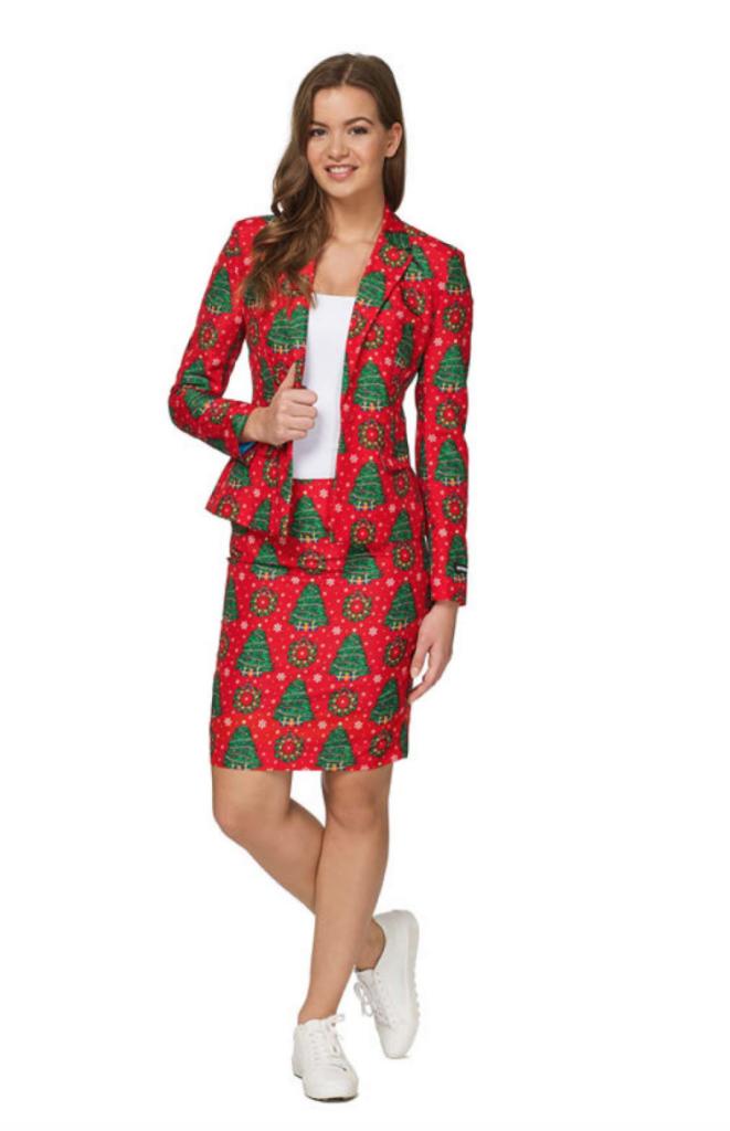 feminint jule jakkesæt til kvinder 661x1024 - Jule jakkesæt til kvinder