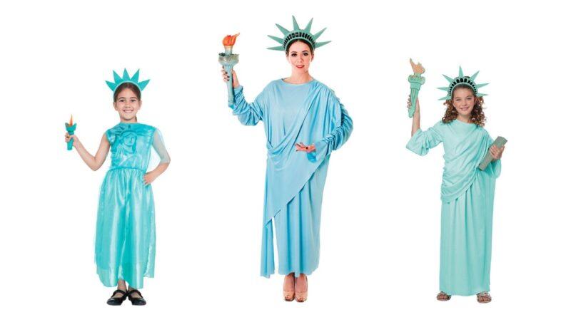 frihedsgudinde kostume til voksne frihedsgudinde kostume til børn sidste skoledag kostume 800x445 - Frihedsgudinde kostume