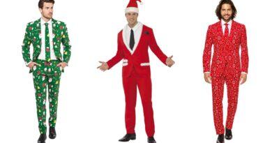 jule jakkesæt til mænd, julejakkesæt til mænd, jule kostumer til mænd, jule udklædning til mænd, suitmeister jule jakkesæt, røde jakkesæt til mænd, grønne jakkesæt til mænd, jakkesæt med julemotiv til mænd, opposuits jule jakkesæt til mænd