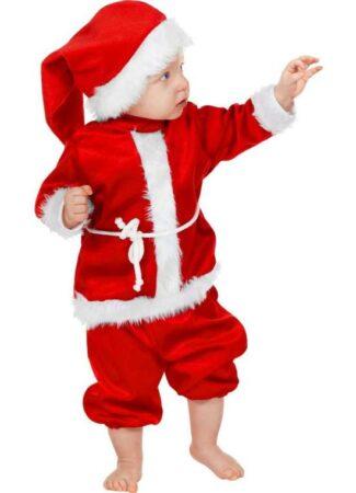 julebaby kostume julemandskostume til baby nissebaby kostume