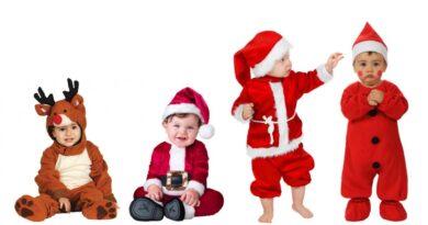julekostume til baby julebaby udklædning julebillede baby