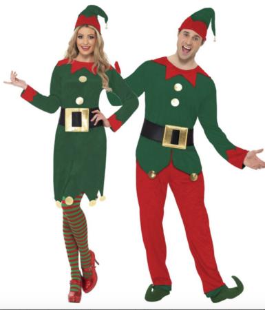 julemandens hjælpere parkostume til jul 385x450 - Julekostumer til par