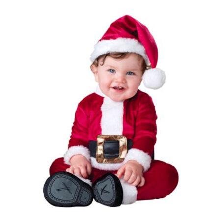 julemandskostume til baby julemand babykostume julebillede udklædning baby