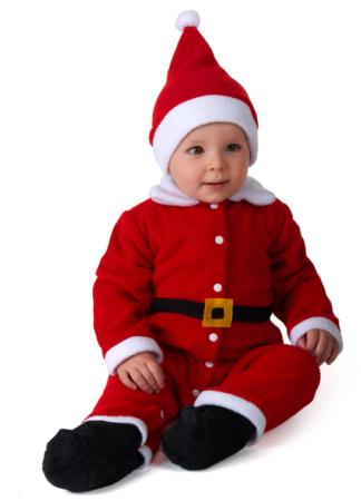 nissedreng kostume til baby julenisse babykostume