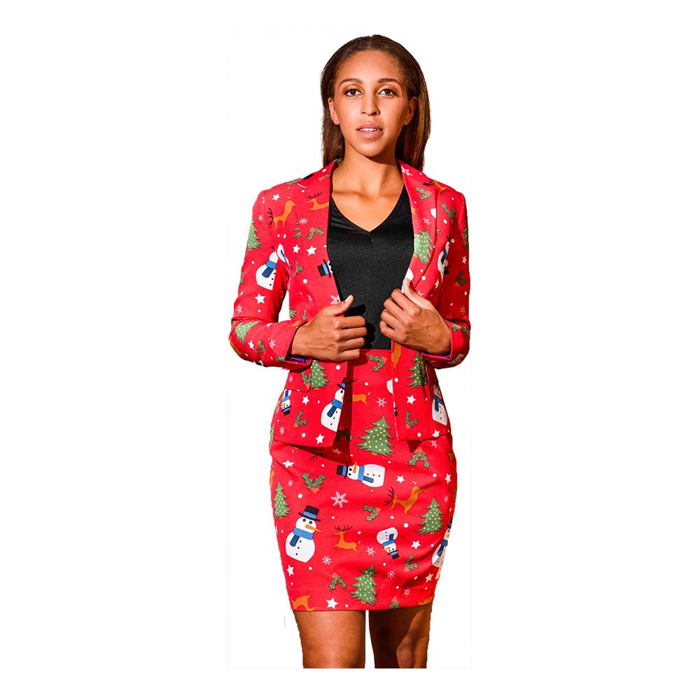 oppusits christmiss jule jakkesæt til kvinder - Jule jakkesæt til kvinder