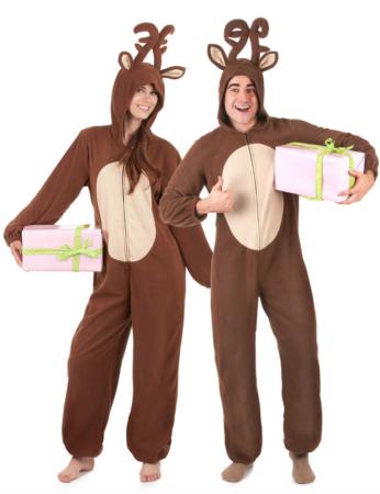 rensdyr parkostume 346x450 - Julekostumer til par