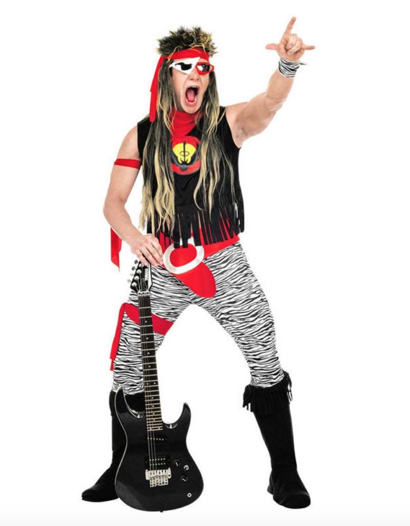 rock star kostume 799x1024 - Rockstjerne kostume til voksne