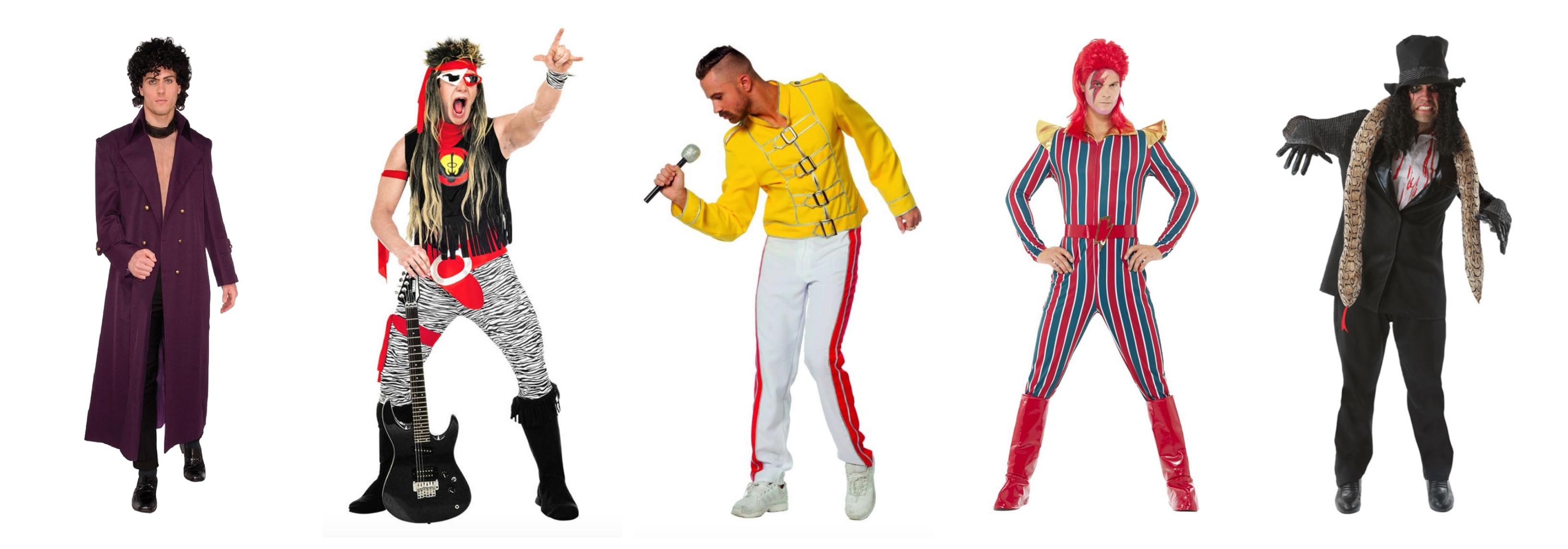 rock stjerne kostume til voksne - Rockstjerne kostume til voksne