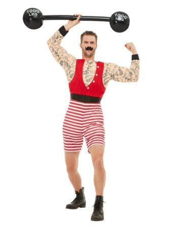 stærk mand kostume cirkus kostume kraftkarl kostume stærke arvid kostume til mænd