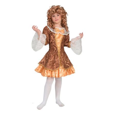 barok kostume til børn marie antoinette børnekostume guld kostume til piger guld børnekostume 1700 tallet kostume til barn 1600 tallet børnekostume